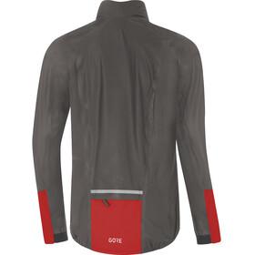 GORE WEAR C5 Gore-Tex Shakedry 1985 Vis Jacket Men lava grey/red
